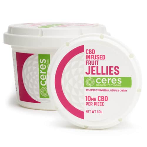 Ceres Natural Remedies CBD Infused Fruit Jellies