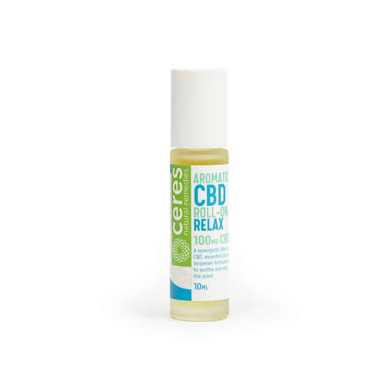 Ceres Natural Remedies CBD Relax Aromatic Roll-On