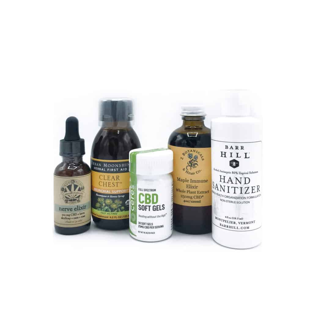 Purchase a CBD Vermont Care Package