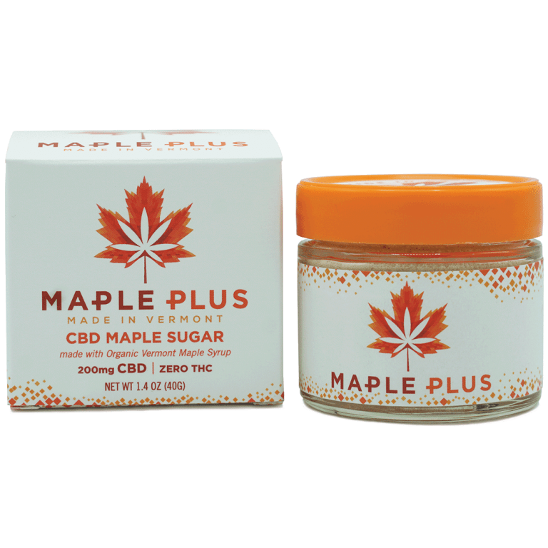 Maple Plus CBD Infused Maple Sugar