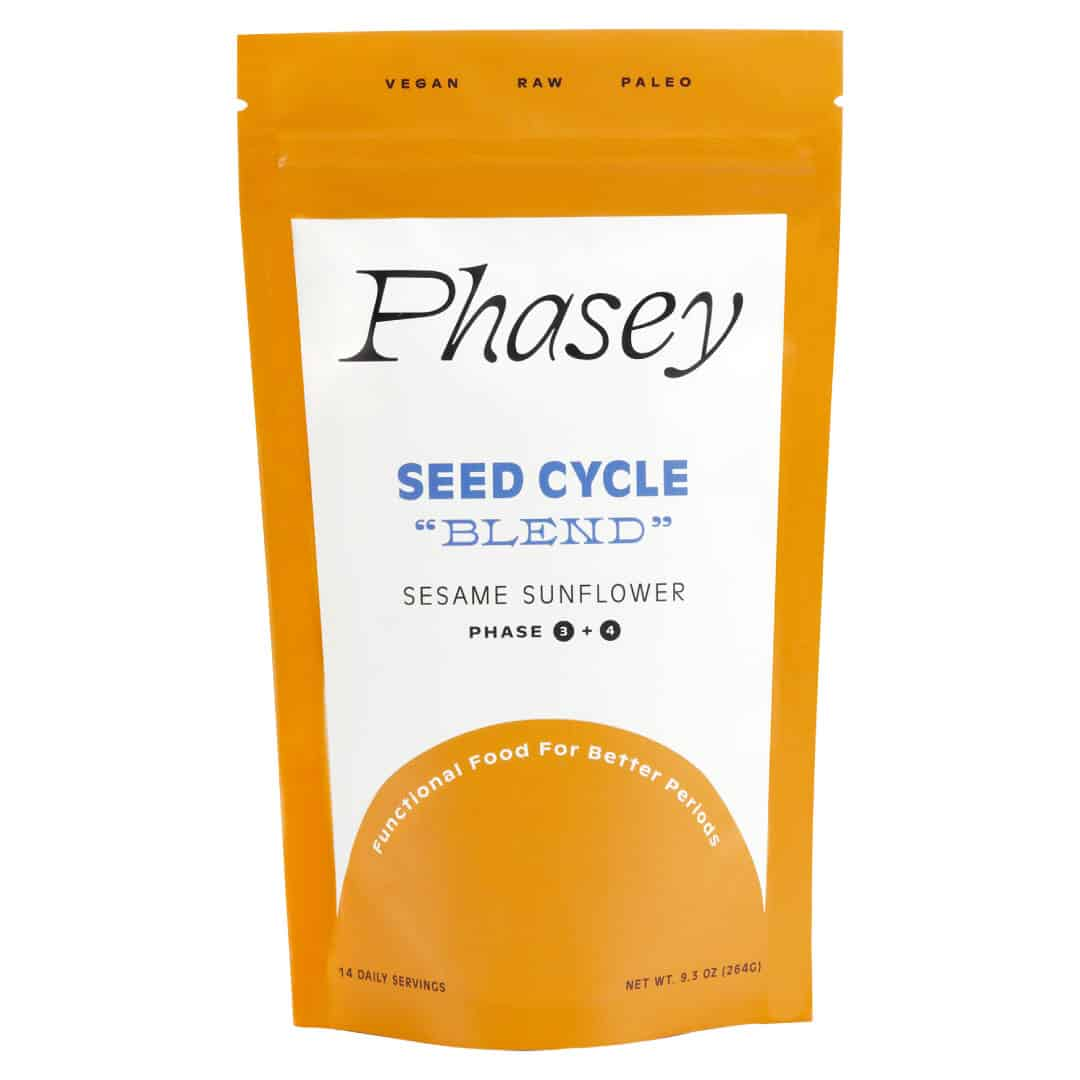 Phasey Seed Cycle Blend – Sesame Sunflower