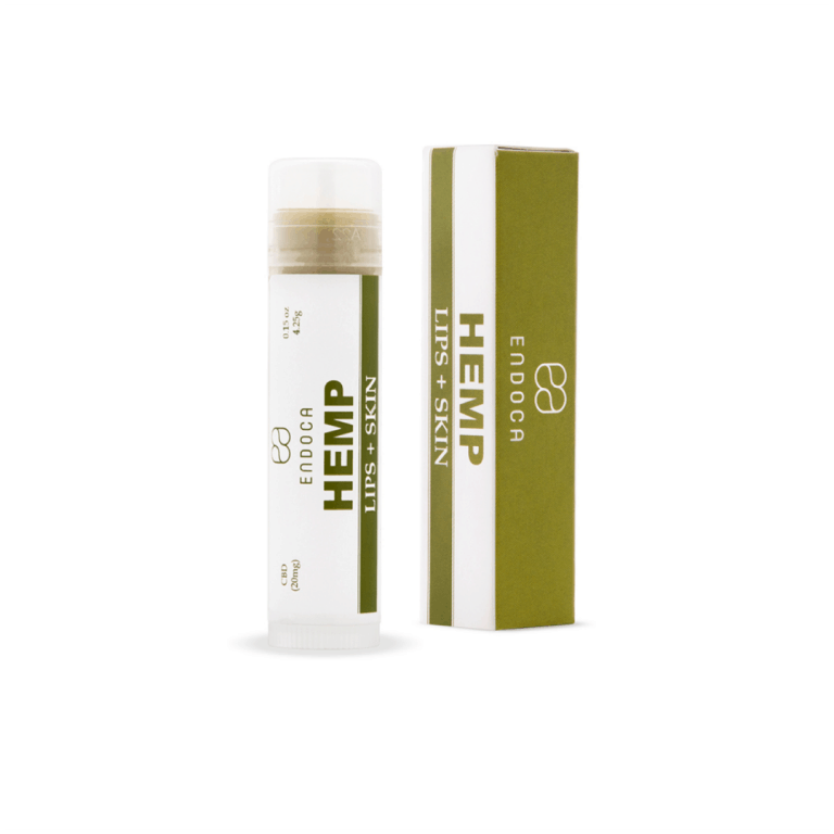 Endoca CBD Hemp Lip + Skin Balm